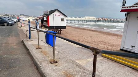 Railings to be replaced at beach steps on Paignton seafront