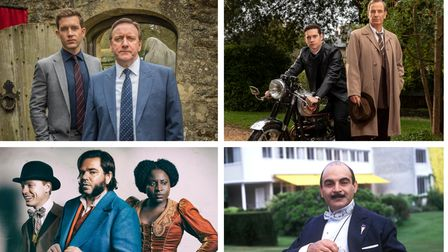 Midsomer Murders, Grantchester, Year of the Rabbit and Poirot have all been filmed on location in Hertfordshire.