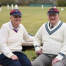 John Vaughan, right, 74, and Alex Evans, 70, who together have been involved with the South Walsham