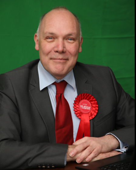 Philip Ross, PCC candidate for the Labour and Co-operative Party