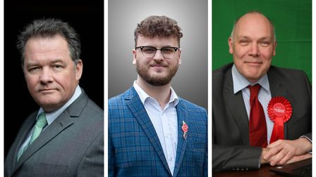 The candidates for Police and Crime Commissioner in Hertfordshire