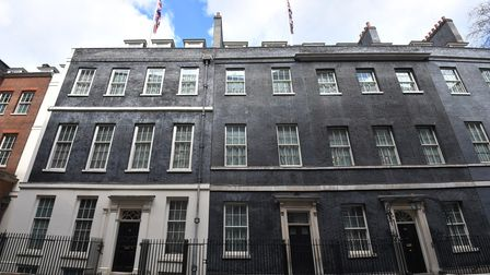 The view from Downing Street