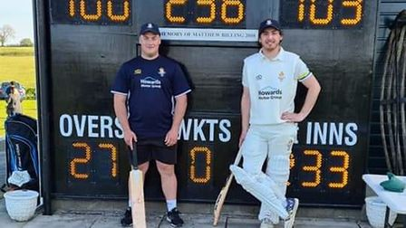 Andy Payne and Scott Ford hit centuries for Clevedon seconds against Failand & Portbury