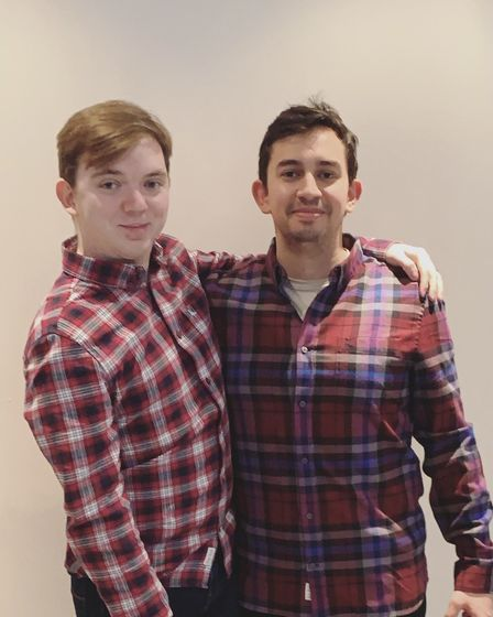 Connor Taylor (left) and Joe Watson (right), founders of Adore Dance.