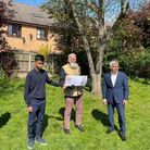 Tahir Khan and Dabirul Choudhury and Sadiq Khan launched the global walking challenge Walk With Dabirul.