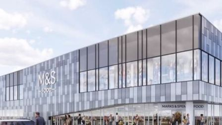 A concept image of the Marks &Spencerdepartment store that could be coming to Stevenage