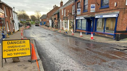 Part of Fairland Street in Wymondham will be closed throughout the day for five weeks for drainage works.