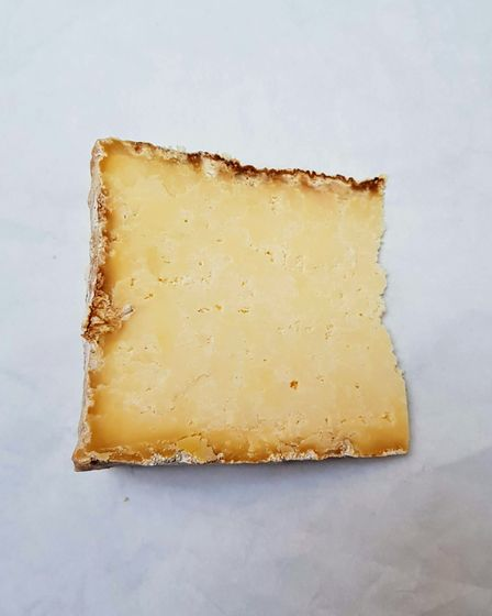 A slice of cheese from Tottenham based cheesemaker Wildes