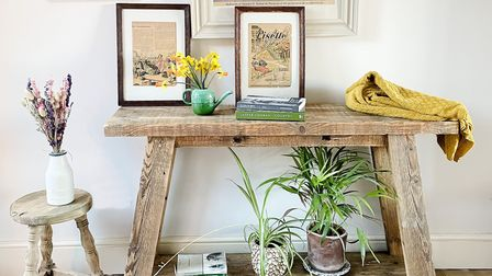 Still and Bloom wooden table