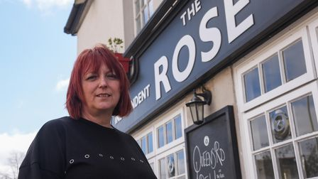 Landlady Dawn Hopkins has opened The Queens Road Deli inside The Rose Inn.