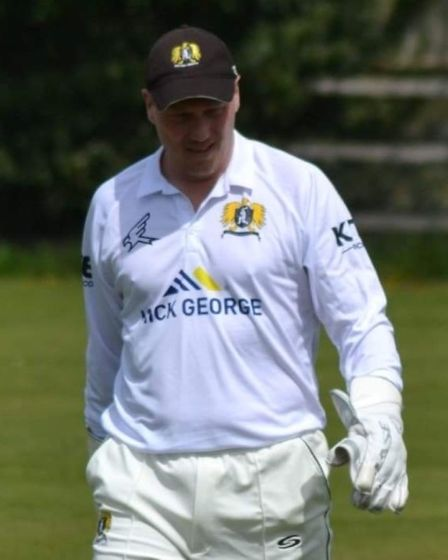 Matt Taylor of Eaton Socon Cricket Club