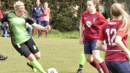 Fulbourn Institute Bluebirds vs Leverington Ladies April 2021