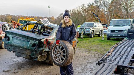 John has photographed many small communities in Suffolk, such as banger racing in Ipswich