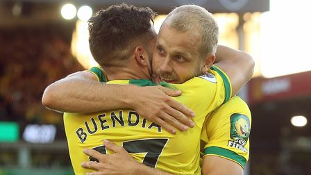 Teemu Pukki and Emi Buendia have been shortlisted for Championship player-of-the-season