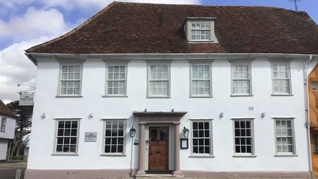 Exterior of The Great House in Lavenham