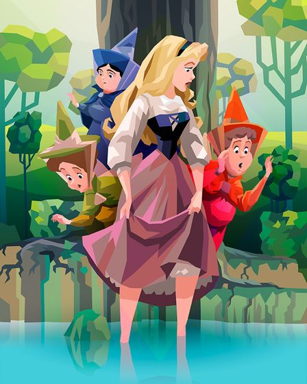 Aurora is one of 14 never-before-told Disney Princess stories featured in Tales of Courage & Kindnes