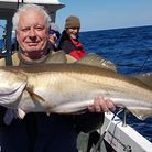Charlie Pole 15lbs Pollack from Silver Halo
