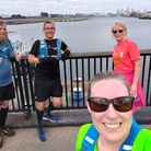 TonyRawson, TonyGawler, Leanne Mitchell and Lynsey Mann all completed yet another virtual marathon.