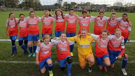 Shrublands Under 13 Girls beat boys to win league