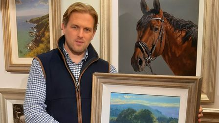 Ashleigh Bishop in his gallery