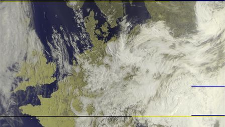 Denni Davies, who is in Year 11 at The Nobel School,has managed to capture images from satellitesas they pass overhead