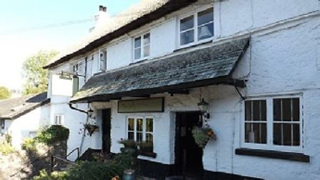 The Jolly Sailor pub in Ogwell