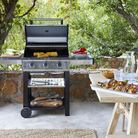 Get your garden readyfor stylish outdoor entertaining with thisJohn Lewisbarbecue set.