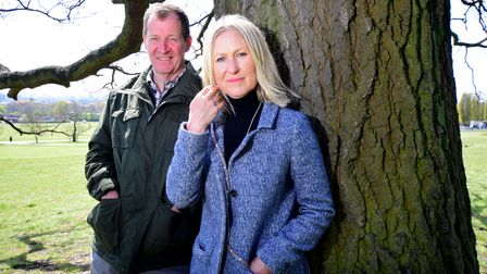 Alastair Campbell and Fiona Millar
