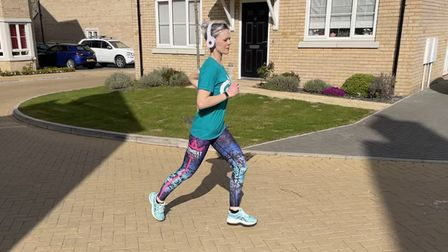 Suzanne Filding training for 4X4 challenge