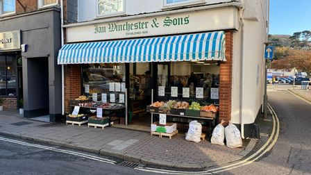 Winchesters fruit and Veg Picture: Vincent Page