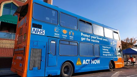 A Covid-19 vaccine bus has launched outside the Balfour Road mosque to encourage more people to get jabbed.