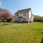 Five bedroomed dwelling and plot of land are incredibly spacious