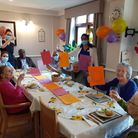 Residents celebrate after Riverview Lodge care home in Kingsbury is rated 'good' by health chiefs.