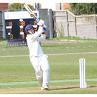 Weston's Jack Press in action against Congresbury