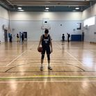Suhayb Choaibi is hoping to go to America to play basketball