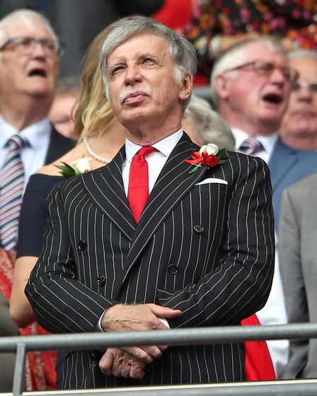 File photo dated 27-05-2017 of Arsenal Owner Stan Kroenke. Issue date: Tuesday April 27, 2021.