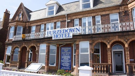 The Furzedown Hotel in Great Yarmouth which has been refurbished ready for the May 17th reopening. P