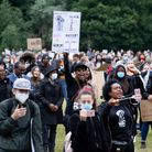 Last year's Black Lives Matter protest in Verulamium Park, St Albans. Picture: Stephanie Belton