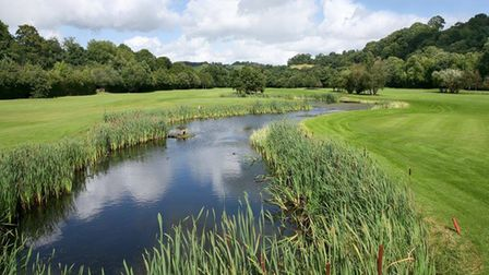 Beautiful scenery at Teign Valley GC