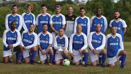 Royston Rangers Reserves team photo