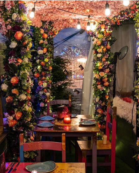 Lilac Cottage have created a secret garden