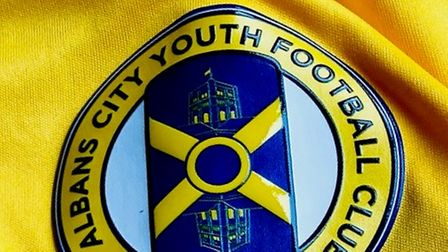 St Albans City Youth Football Club crest badge and logo