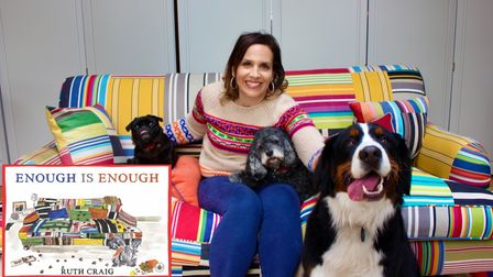 Hampstead's Ruth Craig, author of Enough Is Enough