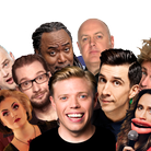 Al Murray, Rob Beckett, Reginald D Hunter, Dara Ó Briain, Russell Kane, Milton Jones and Nina Conti