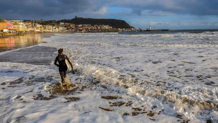There are great surf schools at Whitby, Scarborough and Cayton Bay ©Tony Bartholomew 01723