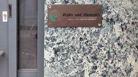 Rights and Humanity also had their offices on Princes Street, Ipswich