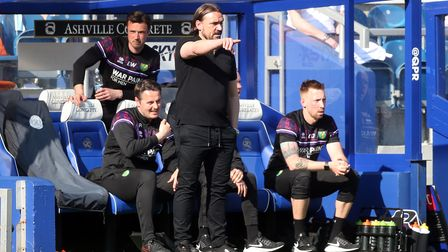 Norwich Head Coach Daniel Farke during the Sky Bet Championship match at The Kiyan Prince Foundation