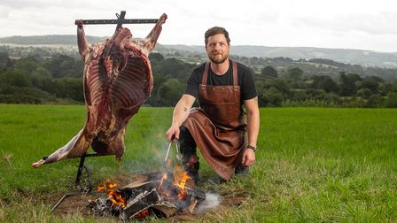 Matt Cross the Dorset-based chef who founded Cross Fire Cooking