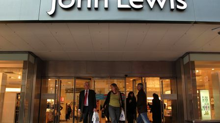 EMBARGOED TO 1230 WEDNESDAY NOVEMBER 4 File photo dated 16/01/12 showing the John Lewis store in Lon