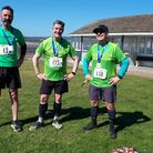 Mighty Greens proudly sporting their medals